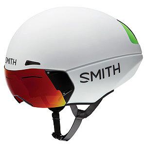 送料無料 SMITH(スミス) ヘルメット PODIUM TT MATTE WHITE M Mips