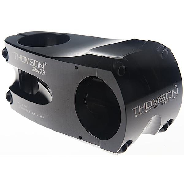 【キャッシュレス5%還元対象店】【送料無料】 THOMSON(トムソン) MTB STEM X4 31.8 50mm 0°BLACK