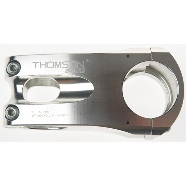 【送料無料】 THOMSON(トムソン) MTB STEM X4 31.8 50mm 0°SILVER