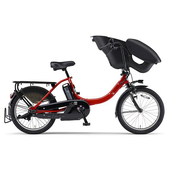 新品 メーカー純正品 日本メーカー新品 送料無料 ヤマハ YAMAHA 通信販売 電動アシスト自転車 PAS ビビッドレッド 完全組立済自転車 PA20KXL Kiss un mini 2020年モデル