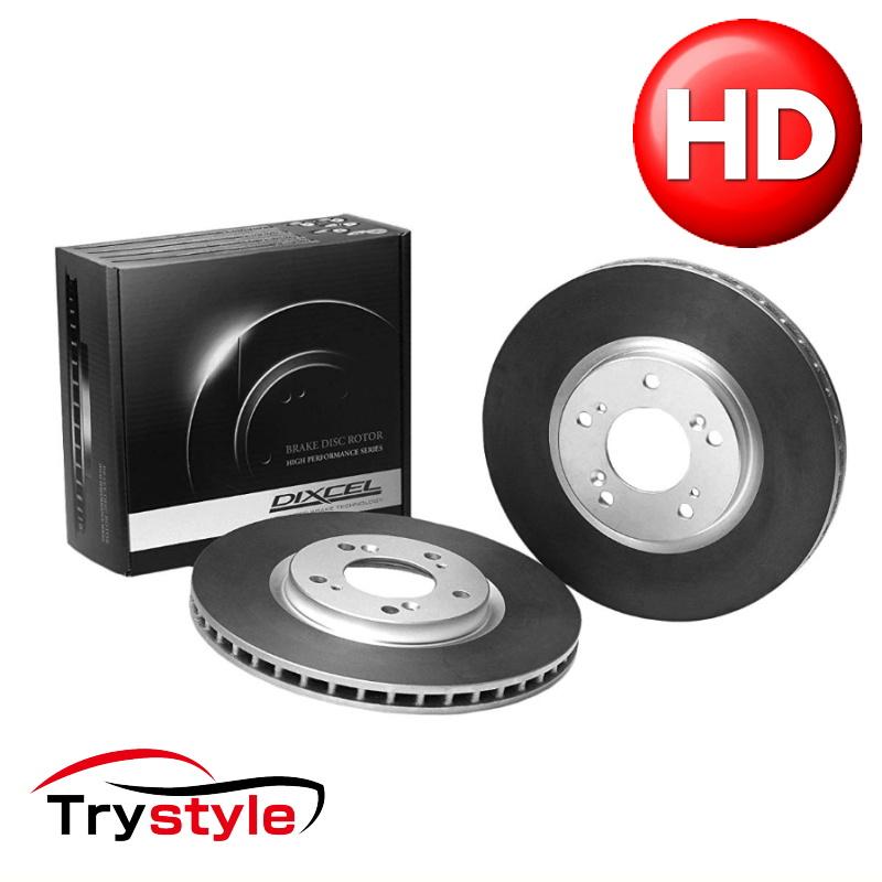 ディクセル HD1560939S スポーツブレーキローター(ブレーキディスク) 用 独自の熱処理加工によりストリートからサーキットまで高性能を発揮!
