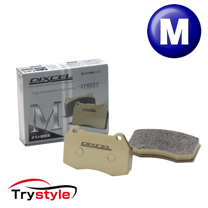 ディクセル M1111289 ダスト超低減ブレーキパッド フロント用 メルセデスベンツ S63 AMG 等 ブレーキダストを大幅に低減!ホイールインチアップ車両にも!