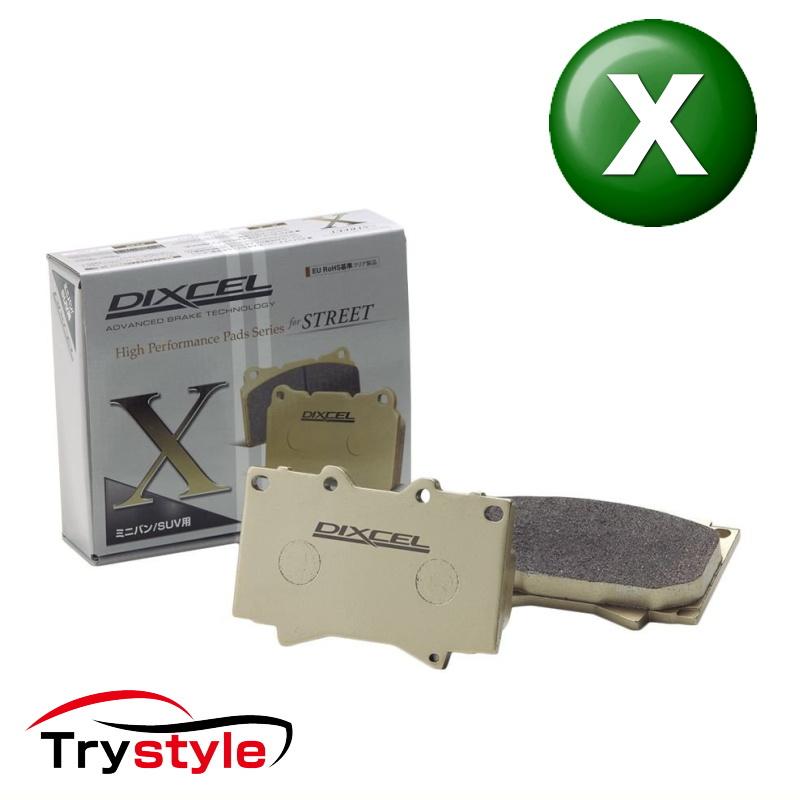 ディクセル X1314455 Xタイプ ブレーキパッド フロント用 アウディ RS6 等 大口径ホイール&重量ボディを確実に制御!重量級ミニバン&SUVにも!