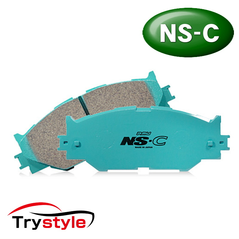 Projectμ プロジェクトミュー NS-C F960 低ダストブレーキパッド フロント用左右セット 主な適合:スバル 等 ストリートから高速走行まで快適にこなすワンランク上の純正補修パッド!