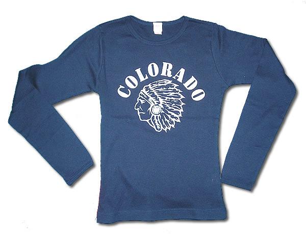 送料無料ゆうパケット配送 格安 スリムフィットロングTシャツ COLORADO 驚きの価格が実現