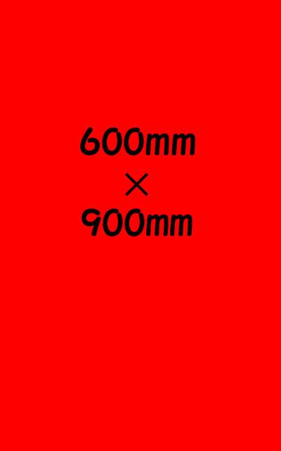 EVA泥除け3mm 商い 600mm×900mm マーケット 赤