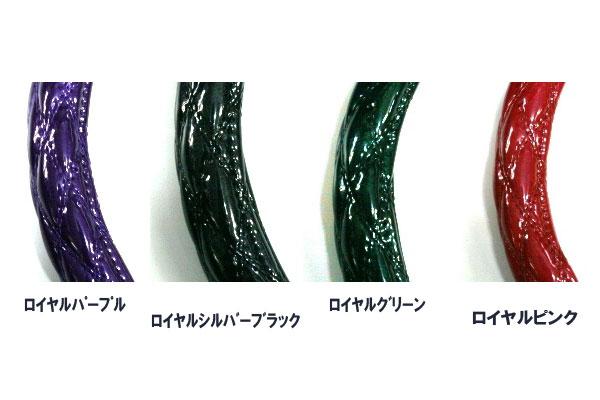 鬆厚的方向盤覆蓋物富士(JET)  雙針脚系列