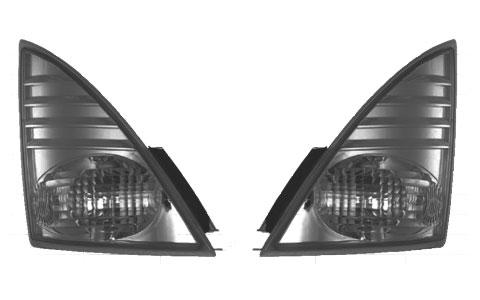 スモークウィンカーランプセット 日野大型・中型 24V-25Wバルブ・LEDポジションバルブ付