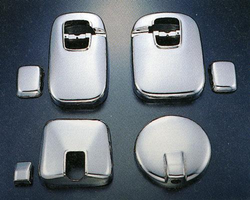 メッキミラーカバー(4点セット) いすゞギガ