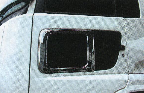 国産メッキ ナビウィンドウガーニッシュCV-408 日産 クオン