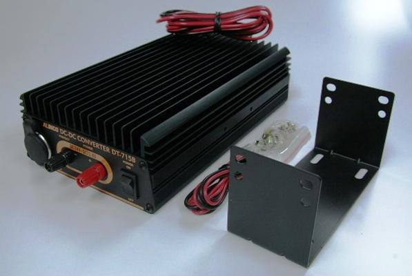 24V車で12V用電装品を使いたいなら アルインコ製 DC/DCコンバーター 15A DT-715B