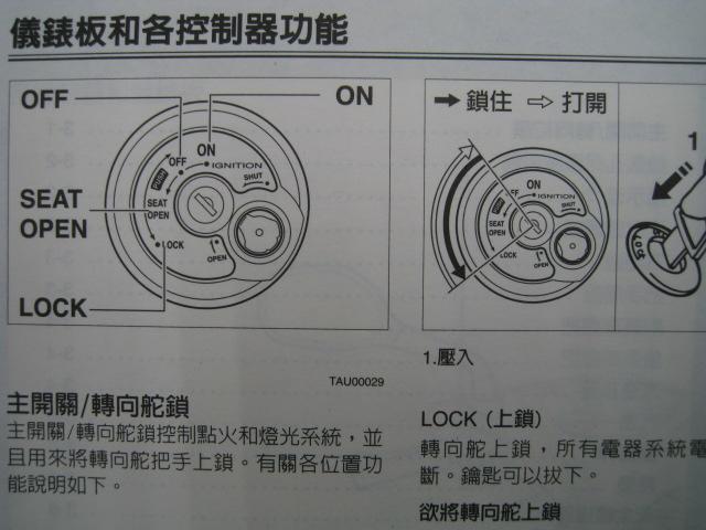 西格纳XSR正规的说明书☆▼NXC125C/E(5TY)台湾雅马哈