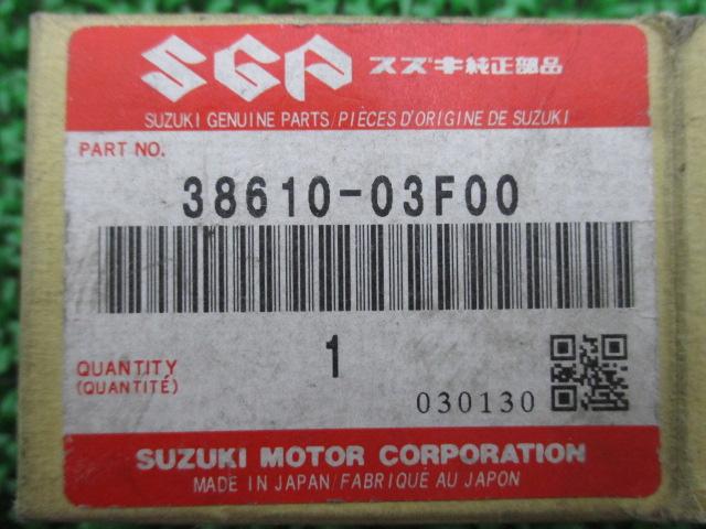 新货铃木纯正摩托车零部件inazuma 400方向指示灯接力38610-03F00库存有立即交纳GK7BA汽车检查Genuine