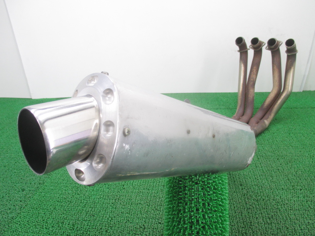 社外 バイク 部品 バンス&ハインズ製CBR900RR マフラー 社外 SC28 アルミ スチール SS2-R 機能的問題なし そのまま使える 【中古】