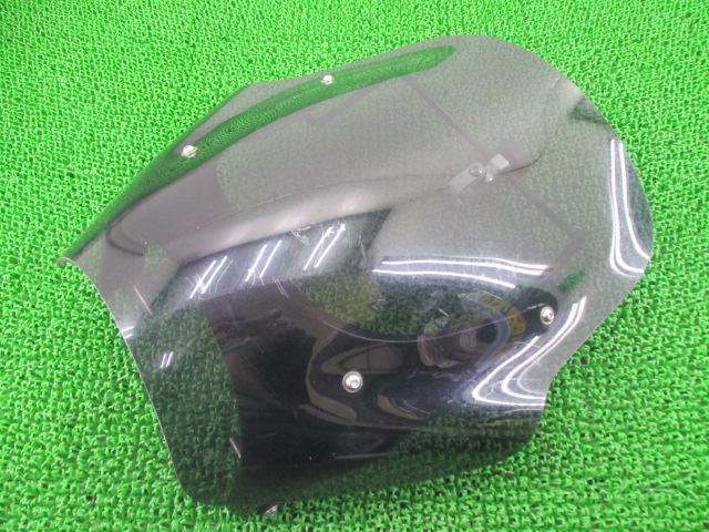 社外 バイク 部品 シックデザイン製SV400 スクリーン 社外 VK53A-501*** 2006年式外し VK53A ガイラシールド 割れ欠け無し そのまま使える 【中古】