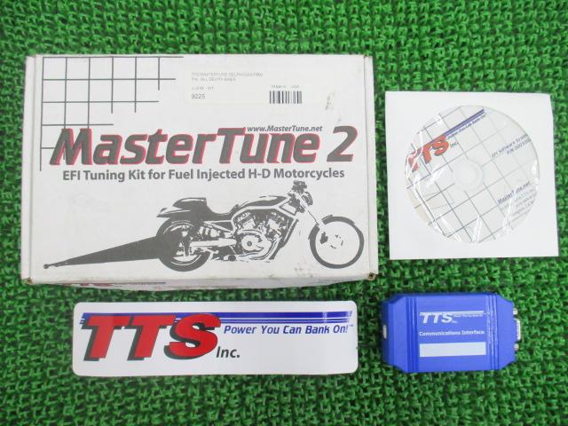 社外 バイク 部品 クリアキン製ハーレー TTSマスターチューンキット 社外 2000008 00年~16年 機能的問題なし そのまま使える 【中古】