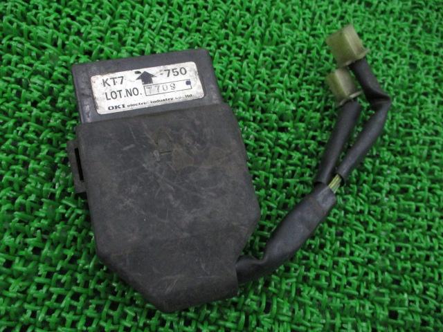 ホンダ 純正 バイク 部品 CBR250R イグナイター 純正 CDI 機能的問題なし そのまま使える 車検 Genuine 【中古】