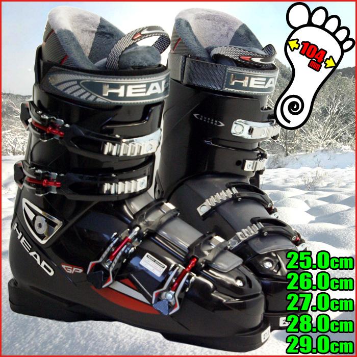ヘッド スキーブーツ HEAD Edge GP BLACK-RED 6012291 メンズ 25.0/26.0/27.0/28.0/29.0【メール便不可・宅配便配送】