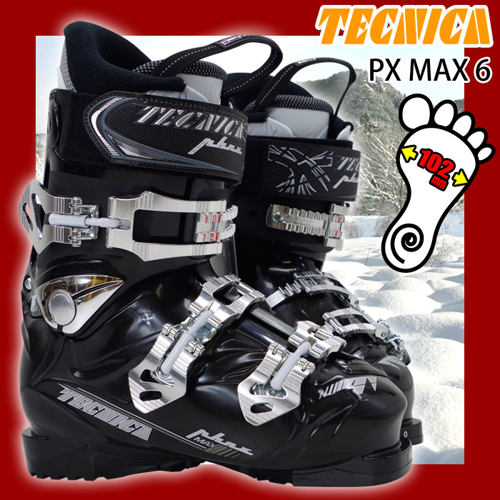 【アウトレット】 テクニカ スキーブーツ Tecnica PX MAX 6 メンズ 24.0/25.0/26.0/27.0/28.0/29.0/30.0/31.0【メール便不可・宅配便配送】