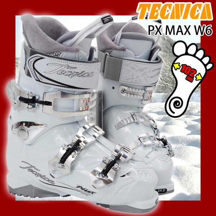【アウトレット】 テクニカ スキーブーツ Tecnica PX MAX W6 レディース 23.0/24.0/25.0/26.0【メール便不可・宅配便配送】