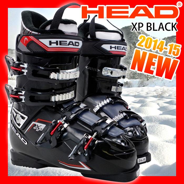 ヘッド スキーブーツ HEAD XP ブラック メンズ 25.0/26.0/27.0/28.0/29.0【メール便不可・宅配便配送】