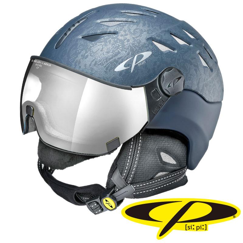 CP シーピー スノーヘルメット CUMA CBC DBC CPC1918 ディープブルーキュービック × ディープブルー 【メール便不可・宅配便配送】