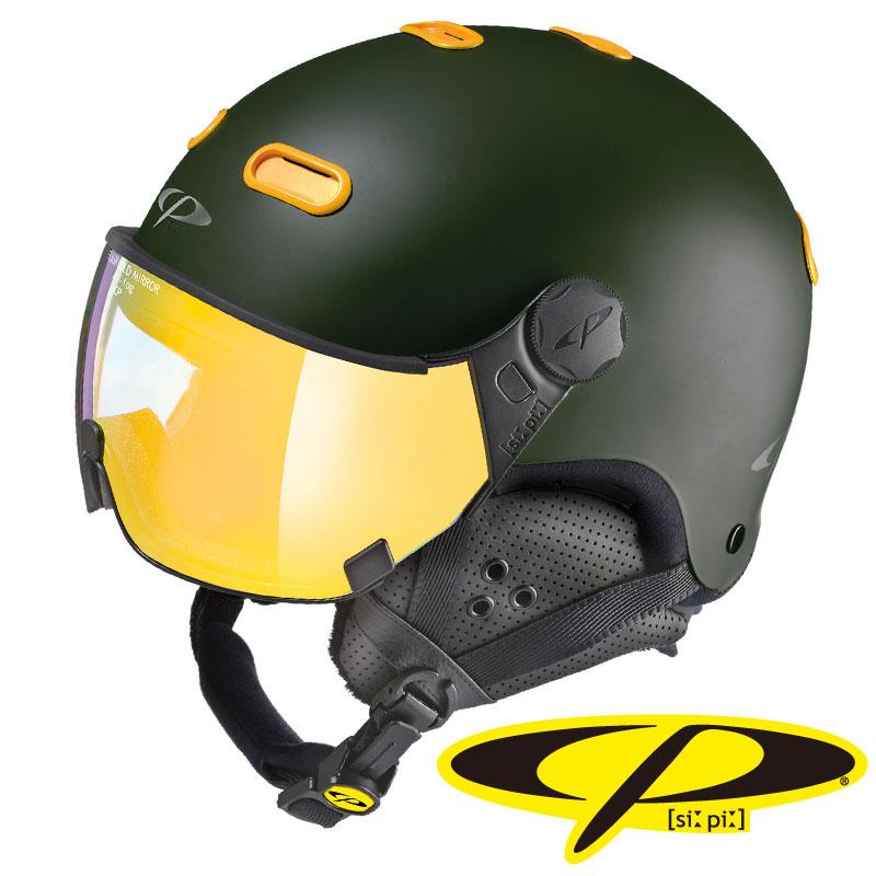 CP シーピー スノーヘルメット CARACHILLO VCM CPC1924 ヴルカーノ × メイズ 【メール便不可・宅配便配送】