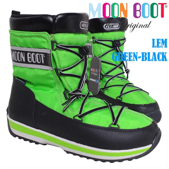 テクニカ ムーンブーツ MOON BOOT LEM GREEN-BLACK 父の日 アウトレット 【コンビニ受取対応商品】【メール便不可・宅配便配送】