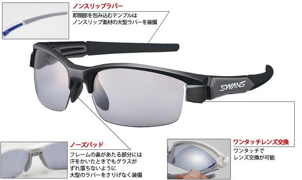 SWANS LION-PM LION-0753 BK/G ◇ LION series ◆ lion polarization mirror lens ♪ swans sunglasses