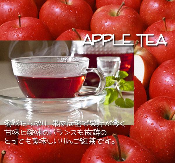 商舗 蜜がたっぷりでジューシーな林檎をふんだんに使用したさわやかな香りと甘みのフルーツ紅茶です 激安通販専門店 まさに手放せない癖になる一品 紅茶 フルーツティ りんご紅茶 50g tea 送料無料:メール便 apple 蜜がたっぷりで甘みと酸味のバランスがやみつき