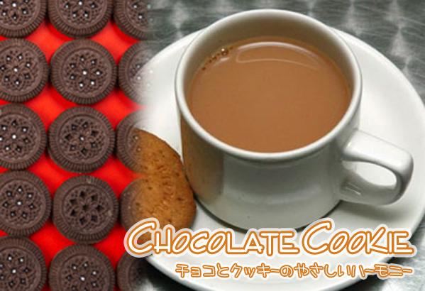 相性抜群のチョコとクッキーがコクのある紅茶とピッタリマッチ まさにスイーツな紅茶です 紅茶 スイーツティ クッキーチョコ紅茶 Chocolate Cookie レビューを書けば送料当店負担 正規店 送料無料:メール便 50g チョコとクッキーのやさしいハーモニー