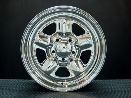 T.S.W STAR [CHROME] 16X7.0J +35 5H114.3