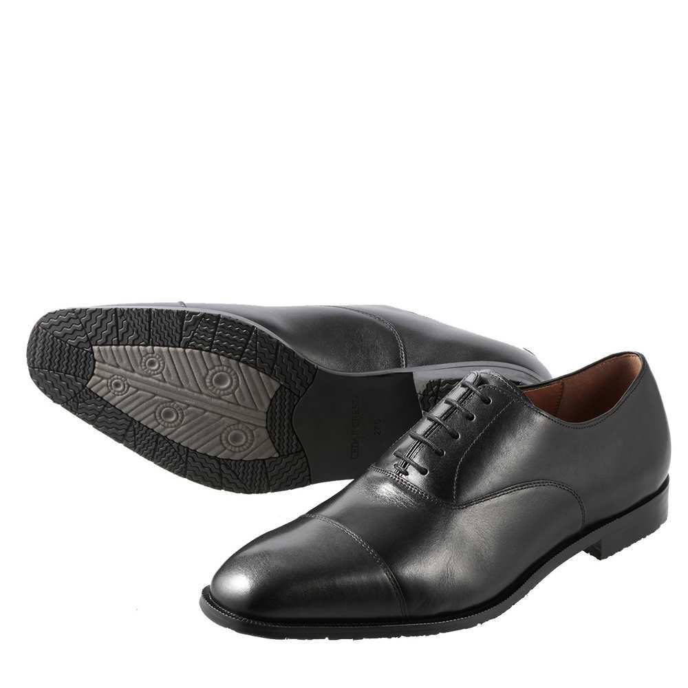 セダークレスト クラシックス CEDAR CREST ビジネスシューズ CC-1801W メンズ靴 靴 シューズ 2E相当 ビジネスシューズ 内羽根 ストレートチップ イタリアンレザー 防滑 すべりにくい 冠婚葬祭 大きいサイズ対応 28.0cm ブラック SP