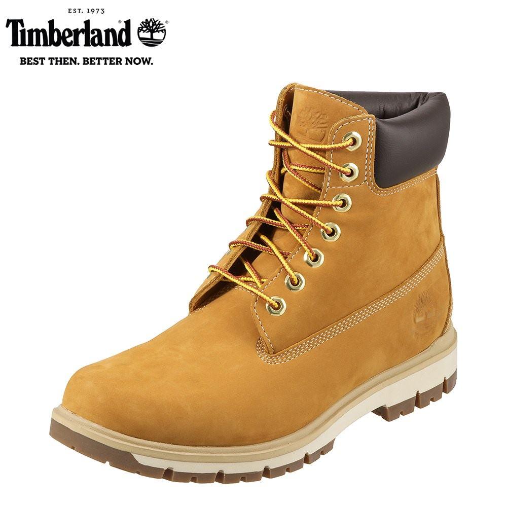 ティンバーランド Timberland ブーツ TIMB A1JHF メンズ 靴 シューズ 3E相当 レースアップブーツ 本革 撥水 ショートブーツ ワークブーツ 幅広 カジュアル 大きいサイズ対応 28.0cm イエロー SP