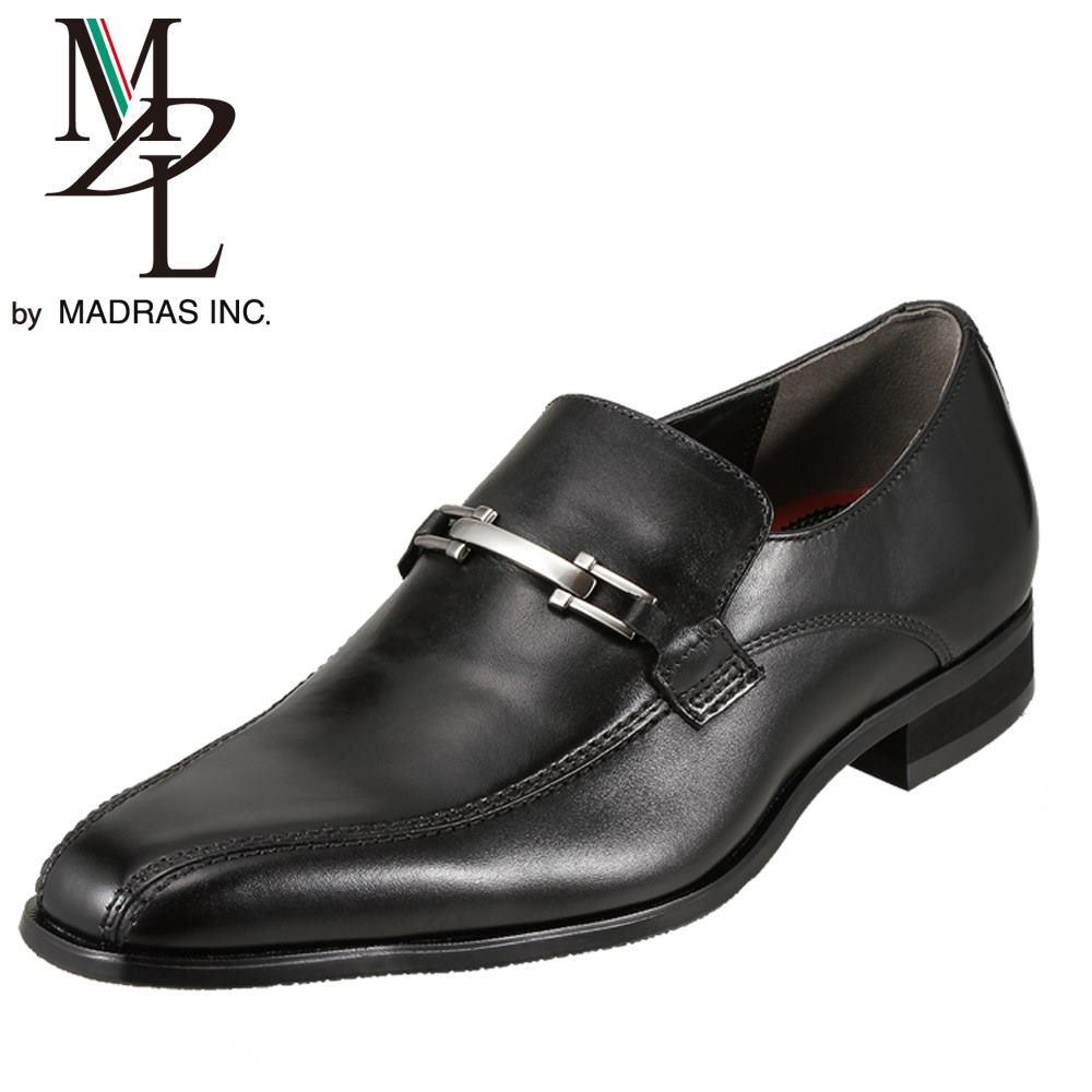 モデロ MODELLO ビジネス DS4050 メンズ靴 靴 シューズ 3E相当 スリッポン ローファー 本革 ビジネス 仕事 通勤 幅広 スクエアトゥ 小さいサイズ対応 24.5cm ブラック SP