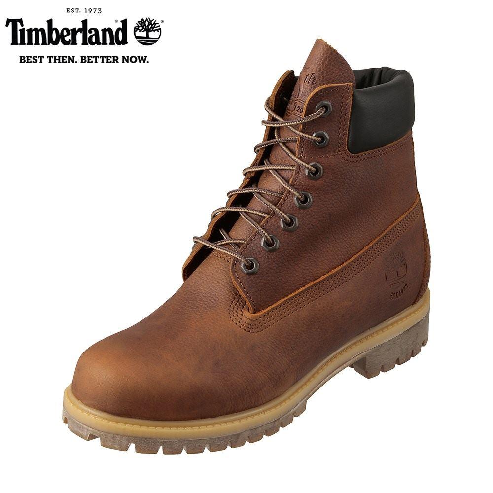 ティンバーランド Timberland ワーク TIMB A1R18 メンズ靴 靴 シューズ 3E相当 アウトドアブーツ ショートブーツ 防水 6inch Premium 45周年モデル 人気 ブランド アメカジ 大きいサイズ対応 28.0cm ブラウン SP