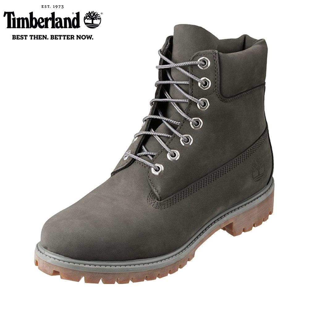 ティンバーランド Timberland ワーク TIMB A1UFH メンズ靴 靴 シューズ 3E相当 アウトドアブーツ ショートブーツ 防水 6inch Premium 人気 ブランド アメカジ 大きいサイズ対応 28.0cm グレー SP