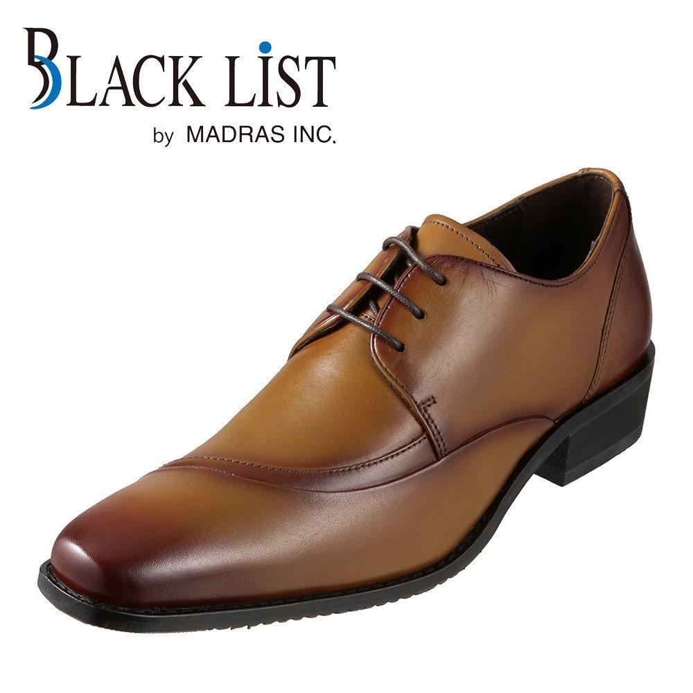 ブラックリスト BLACK LIST ビジネスシューズ BC2515 メンズ靴 靴 シューズ 3E相当 外羽根 レースアップ 本革 ビジネス 仕事 通勤 幅広 3E ロングノーズ 脚長効果 おしゃれ ライトブラウン SP