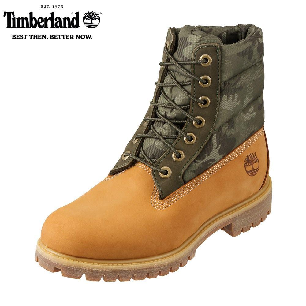 ティンバーランド Timberland ブーツ その他 TIMB A1ZRH メンズ靴 靴 シューズ 3E相当 レースアップブーツ 防水 6inchi Premiun Puff ショートブーツ 防寒 冬靴 大きいサイズ対応 28.0cm イエロー SP