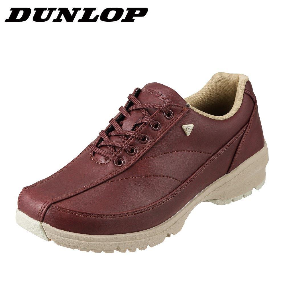 ダンロップ DUNLOP ウォーキングシューズ DW318 レディース靴 靴 シューズ 4E相当 ウォーキングシューズ ローカットスニーカー 防水 軽量 ブランド 人気 スポーツ 運動 歩きやすい 大きいサイズ対応 24.5cm ワイン SP