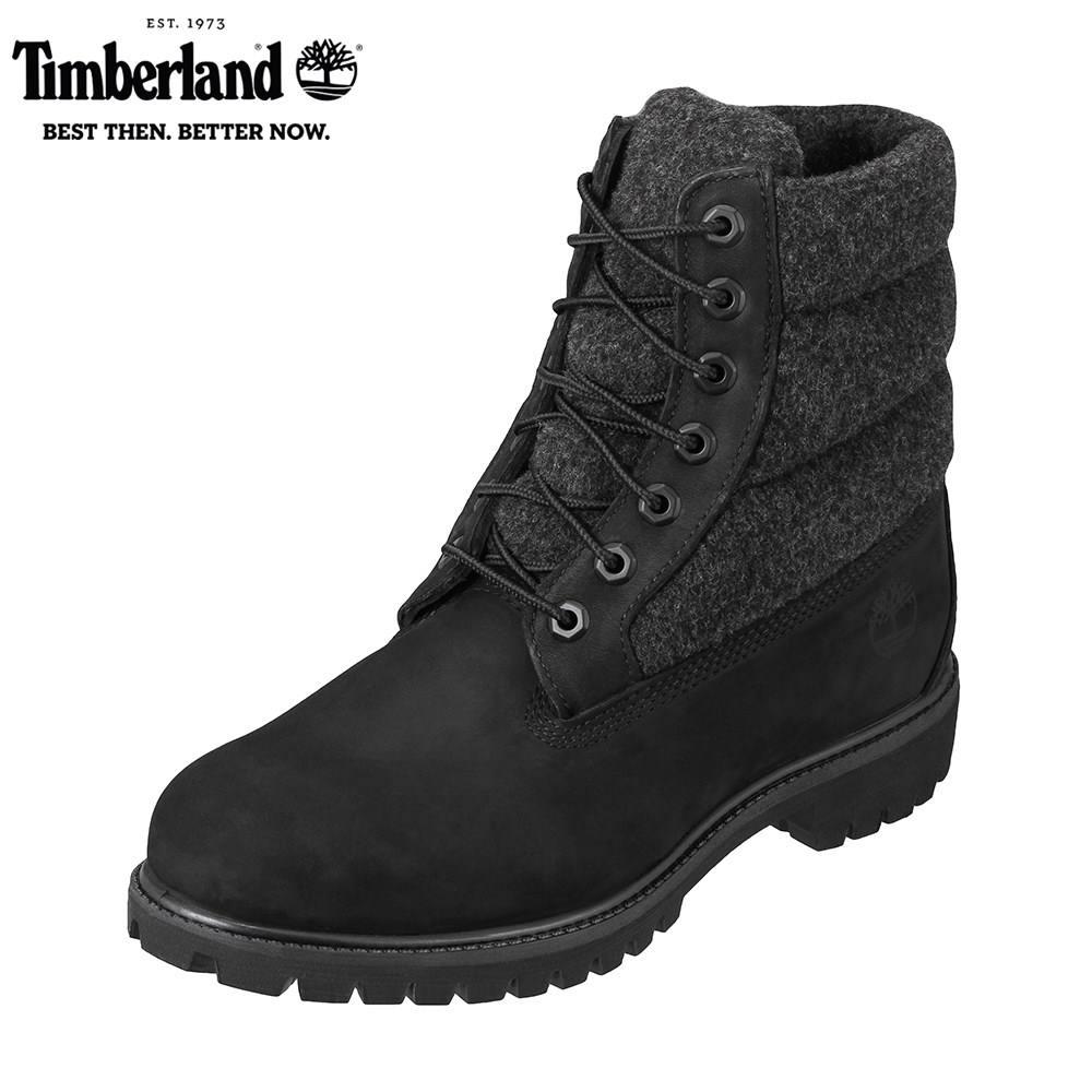 ティンバーランド Timberland ブーツ その他 TIMB A1ZR6 メンズ靴 靴 シューズ 3E相当 レースアップブーツ 防水 6inchi Premiun Puff ショートブーツ 防寒 冬靴 大きいサイズ対応 28.0cm ブラック SP