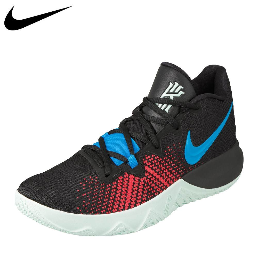 ナイキ NIKE スニーカー AA7071-002 メンズ靴 靴 シューズ 2E相当 バスケットシューズ ローカットスニーカー カイリー フライトラップ Zoom Air ズームエアー バッシュ 大きいサイズ対応 28.0cm 29.0cm ブラック×ブルー SP