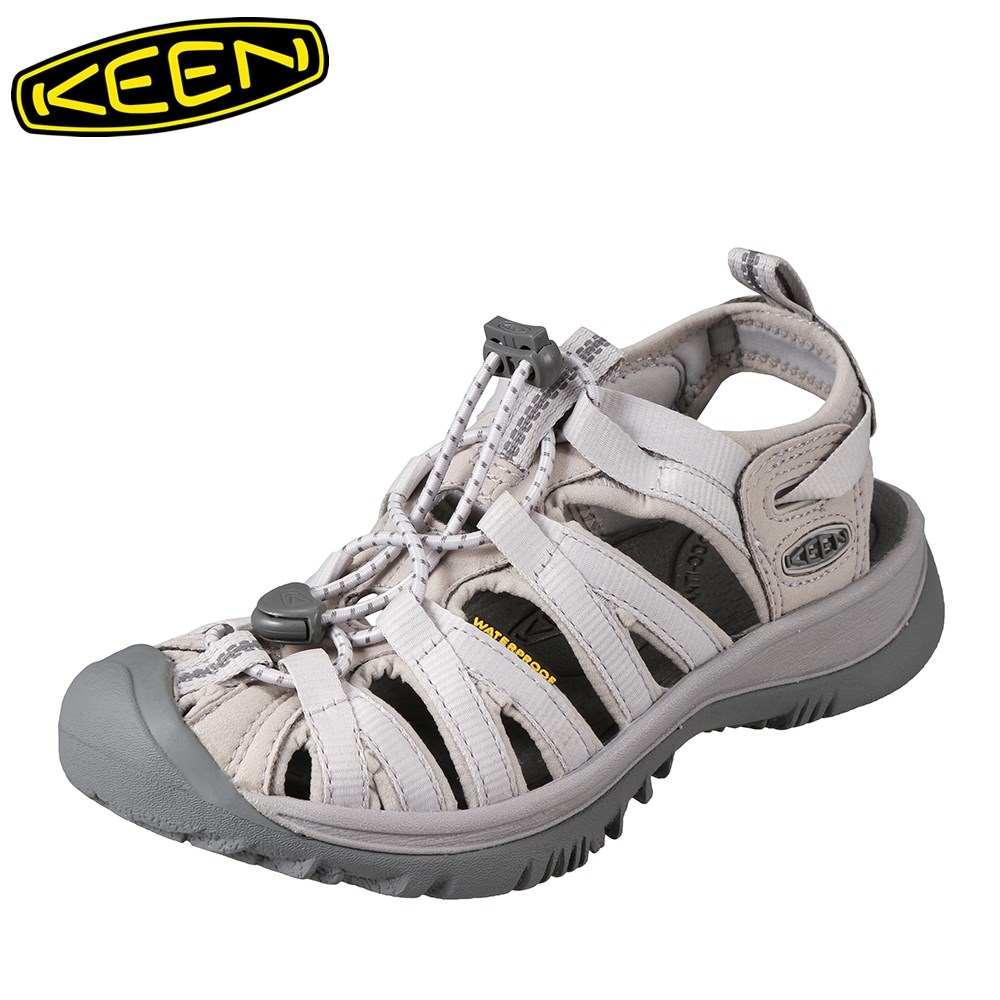 キーン KEEN サンダル 1018232 レディース靴 靴 シューズ 2E相当 レディース サンダル 軽量設計 WHISPER 大きいサイズ対応 ライトグレー SP