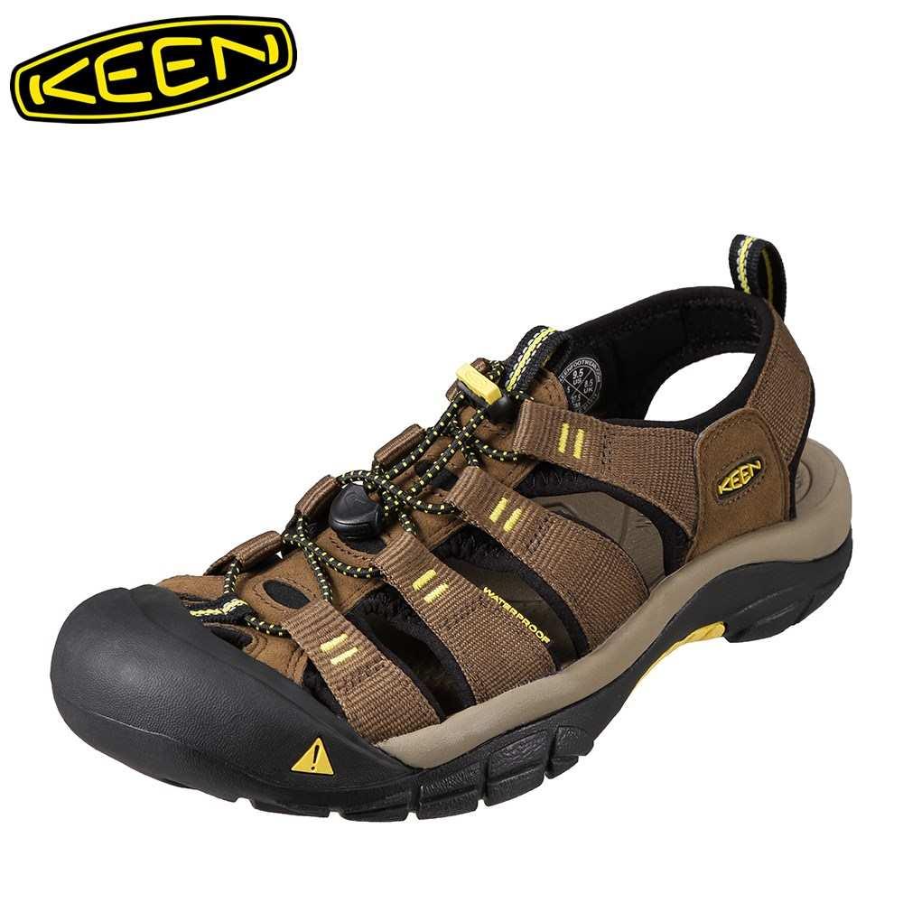 キーン KEEN メンズ サンダル 1016285 NEWPORT H2 ニューポート スポーツサンダル メンズ靴 靴 シューズ スポサン 軽量 アウトドア キャンプ レジャー フェス ウォーターシューズ ブランド 人気 ブラウン SP