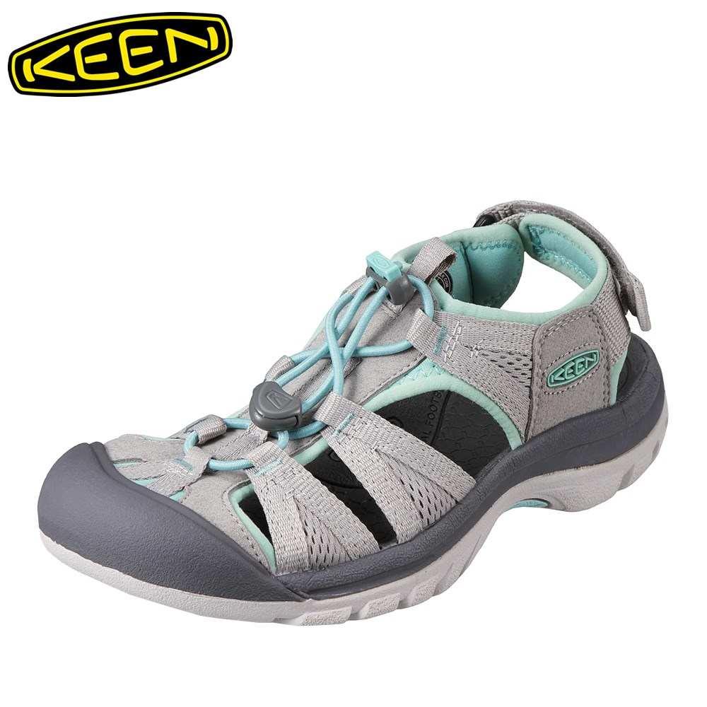キーン KEEN サンダル 1018851 レディース靴 靴 シューズ 2E相当 レディース サンダル 軽量設計 VENICE II H2 人気ブランド グレー SP