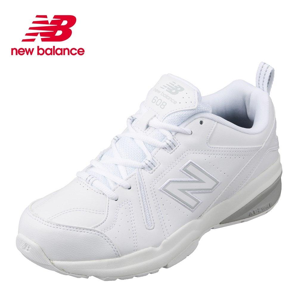 ニューバランス new balance MX608SW54E メンズ靴 4E スポーツシューズ トレーニングシューズ 幅広 4E 小さいサイズ対応 大きいサイズ対応 ホワイト SP