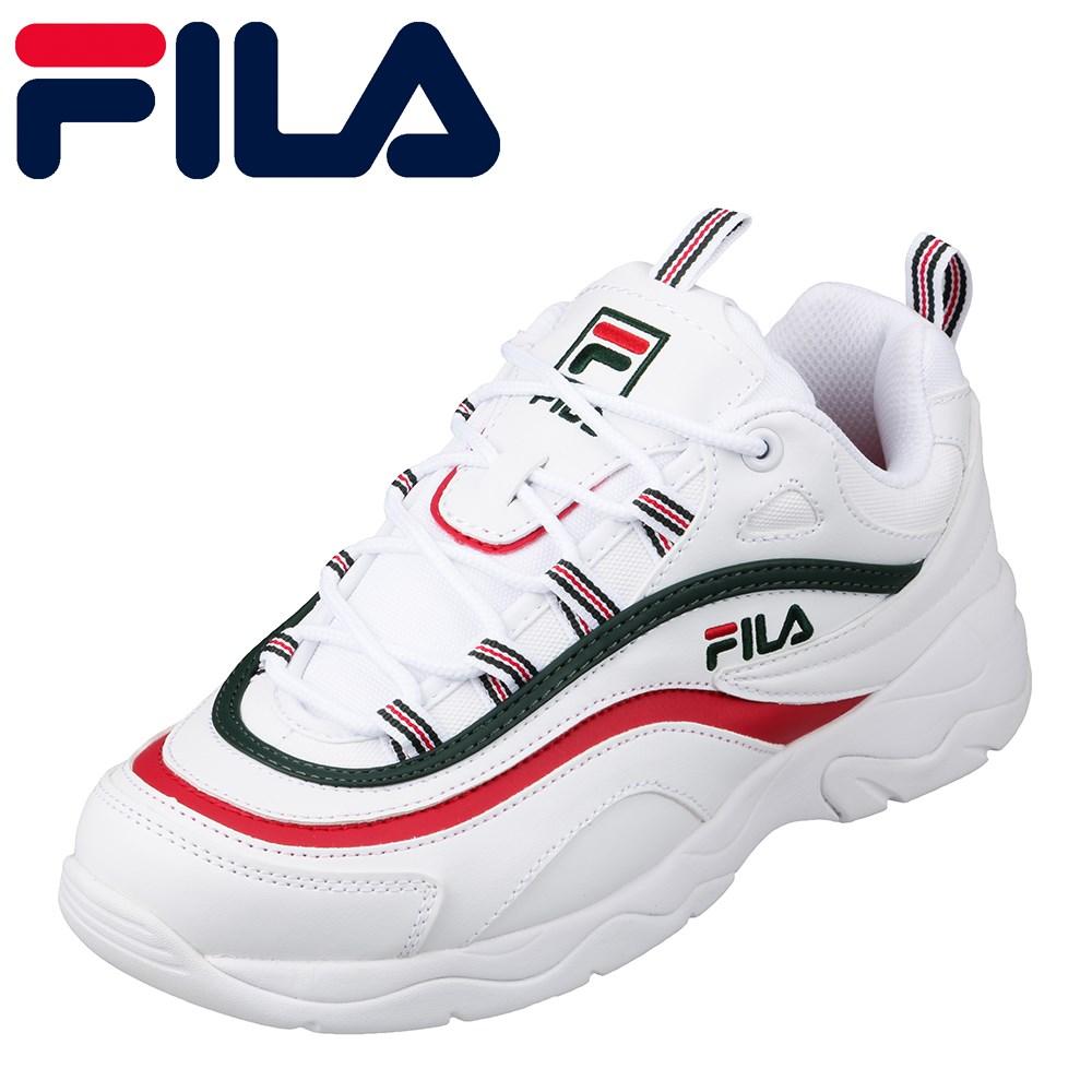 フィラ FILA F-5078 メンズ靴 :2E スニーカー 厚底 ソール レイ Ray オリジナルカラー 限定カラー グリーン SP