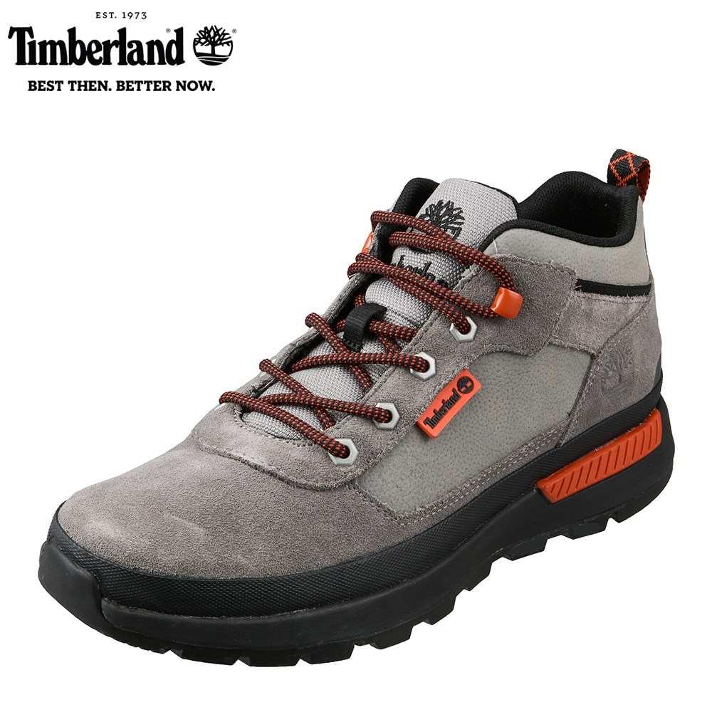 ティンバーランド Timberland TIMB A1YR8 メンズ靴 3E相当 ブーツ 撥水 はっ水 Field Trekker Low 本革 レザー ミディアムグレー SP