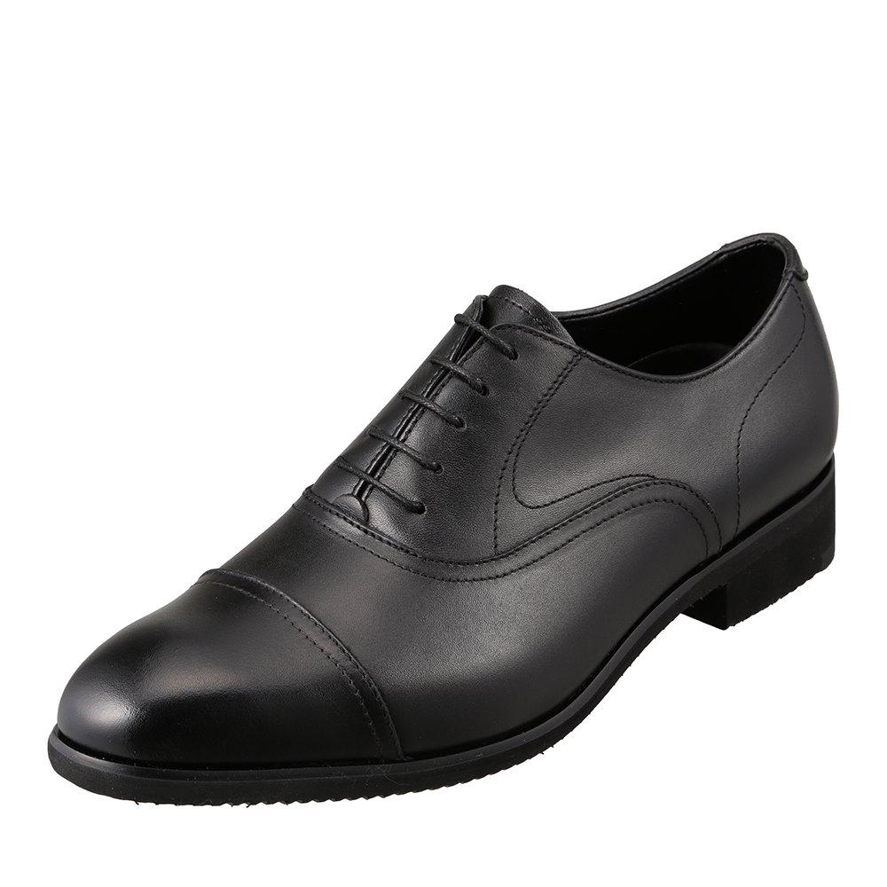 ヒロミチナカノ hiromichi nakano 422H メンズ靴 3E相当 ビジネスシューズ 軽量 ビブラムソール ストレートチップ 小さいサイズ対応 ブラック SP