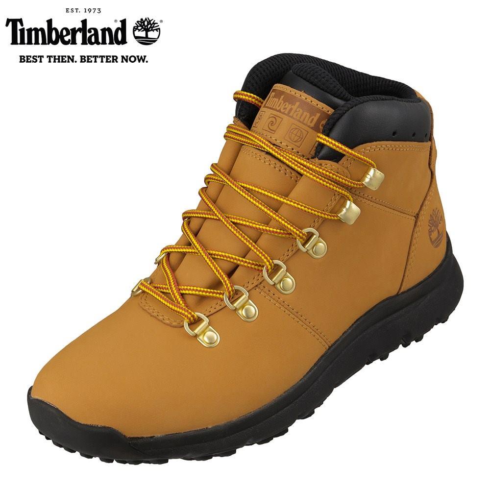 ティンバーランド Timberland TIMB A2169 メンズ靴 3E相当 ブーツ アウトドア World Hiker Mid 本革 レザー Wheat SP